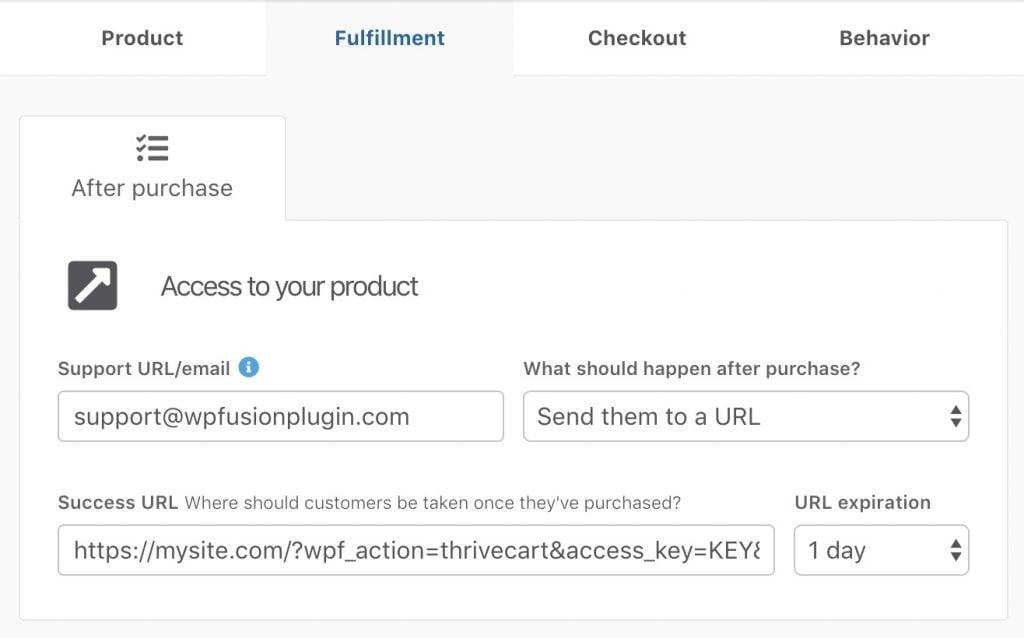 ThriveCart   WP Fusion