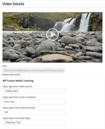 Track video engagement with the Media Tools Addon